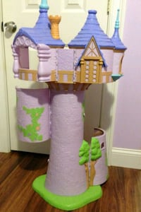 purple and green castle toy Jacksonville, 32207