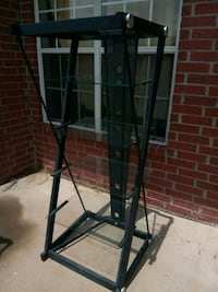 black and gray metal rack 1138 mi