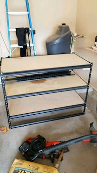 black metal framed glass top table Las Cruces, 88007