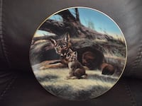 "Bradex Collectors Plate 84-G20-15.3 ""The Red Wolf"" Will Nelson Hanover"
