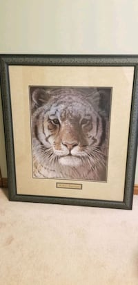 Robert Bateman Tiger At Dusk Windsor, N9K 1A6