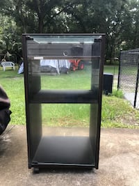 Electronics cabinet , opens on top and also full glass door   Port Orange, 32127