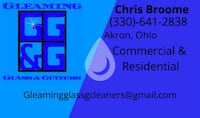 Window and gutter cleaning! Akron