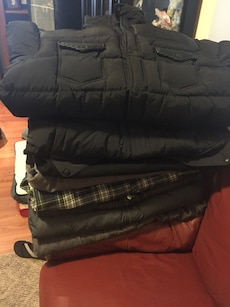 Assorted jackets n coats from $20 a $40
