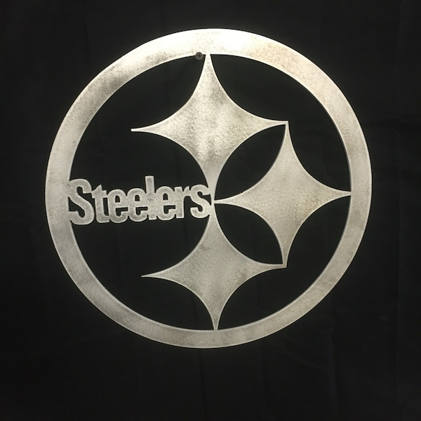 Used Pittsburgh Steelers Logo White For Sale In Palm Beach Letgo
