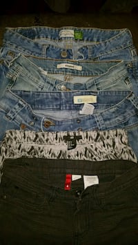 Size 2 Name Brand Jeans and Pants Lot Dover, 19904