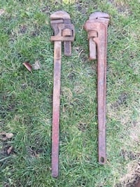 "Vintage 36"" pipe wrenches Pittsburg, 94565"
