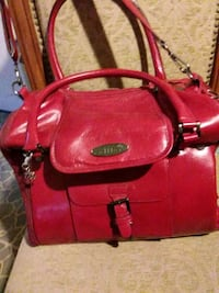 red leather 2-way handbag Lodi, 95240