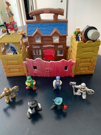Fisher Price Cowboy Set