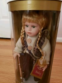 Collectible Memories Genuine Porcelain Doll  Sterling, 20165