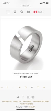 Teno Diamond Ring Pointe-Claire, H9R 1H3