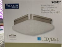 New In Box Flushmount LED Light by Progress Lighting