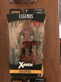 Marvel legends Deadpool action figure Surrey, V3X 2M1