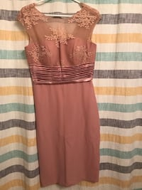 Formal taupe dress never worn