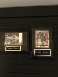 Curtis Joseph and Mats Sundin Collectible Cards  Toronto, M1E 5K6