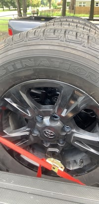 2019 Toyota Tacoma stock sport wheels and tires , brand new tread. Norfolk