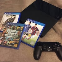 PlayStation 4 and games WASHINGTON