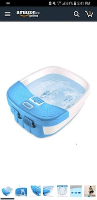 Home Medic Deluxe bubble bliss foot spa Vaughan