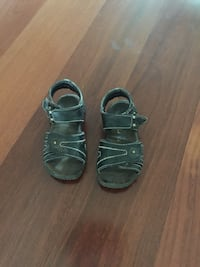 Size 6 toddler's brown leaher sandals Prince George, V2N 0B6