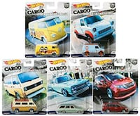 Hot Wheels Cargo Carrier's complete set  Brampton, L7A 0B5