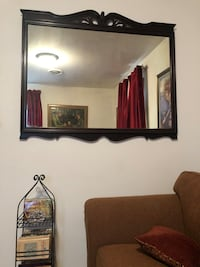 OBO Antique Huntley Furniture Company Large Mahogany Mirror!