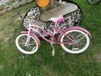 toddler's pink and white bicycle Columbus, 43228