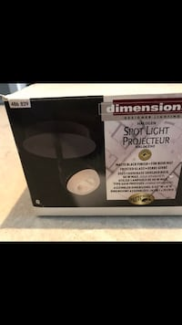 50W- One Light Urban Black Spot Light Fixture. (Brand New) Mississauga