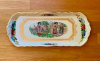 Beautiful Ornate French Alsace Rectangular Plate Platter Dunn Loring, 22027