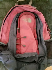 red and gray The North Face backpack Old Lyme, 06371