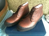 Size 15 Polo - Umar leather boots BRAND NEW Ivyland, 18974