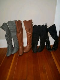 Ladies size 8 boots $20 each Edmonton, T5G 1C2