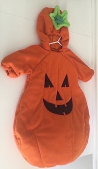 Baby Pumpkin Costume One Size Fits Most Baby's 2-9 Months  Port Saint Lucie, 34953