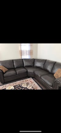 3 set couch with 6 pillows and 3 new tables Bradford West Gwillimbury, L3Z
