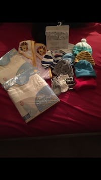 Baby's assorted clothes 268 mi