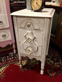 Vintage Night Stand Side Table