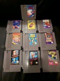 assorted-title game cartridge lot