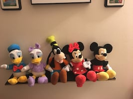 Mickey Mouse & friends plush animals
