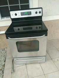 black and gray induction range oven Miami Gardens, 33056