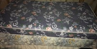 black and pink floral mattress