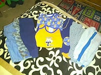 toddler's two assorted tops and six assorted bottoms El Paso, 79904