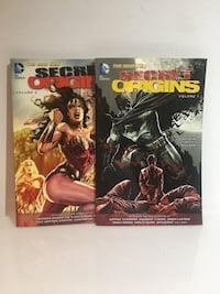 DC comics Secret Origins Mississauga, L5C