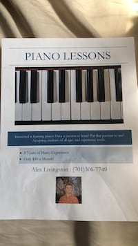 Piano lessons Horace, 58047