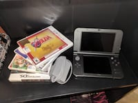 3DS XL w/ Charger and Four Games Milton
