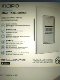 New smart wall switch  Chatham-Kent