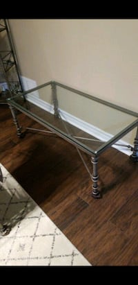Pier one coffee table and said table