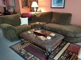 Plush Contemporary Sectional Sofa w/ Recliner Chaise ...Cash /Trade