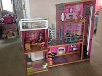 Giant wooden Barbie house with furniture icluded Boonsboro, 21713