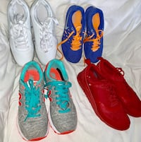 2 Nike, 1 New Balance, 1 Fashion Running Shoes - Women's Size 7. Excellent condition. Hartford, 06117