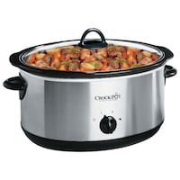 Crock- Pot Oval Slow Cooker 8Qt null