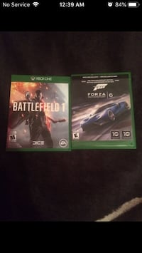 Xbox one games Edmonton, T5W 2X1